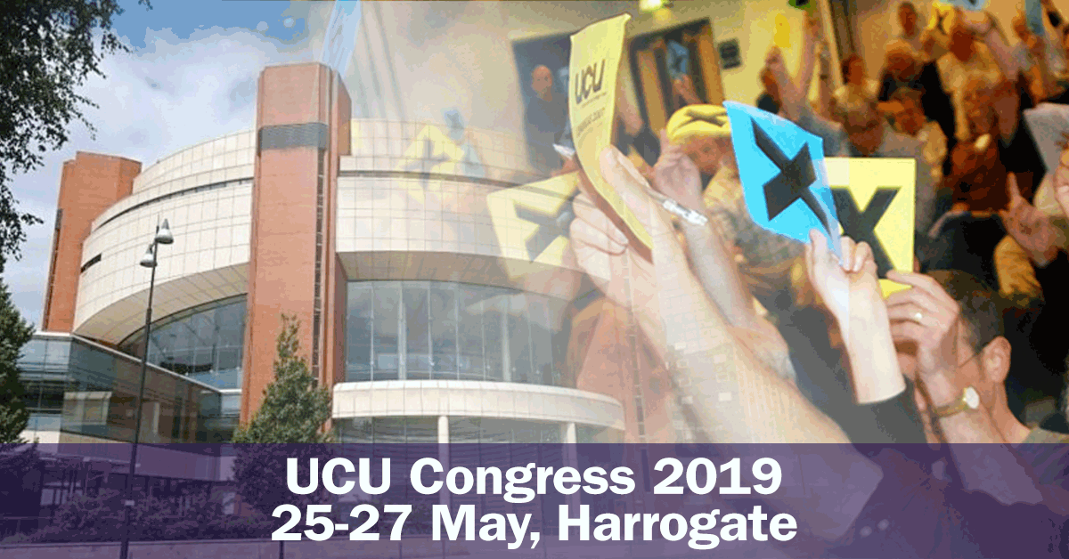 UCU Congress 2019
