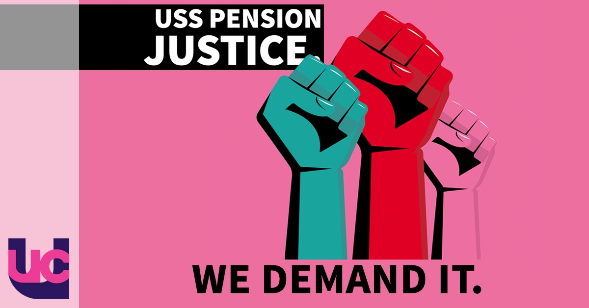 USS pension justice - we demand it (logo)