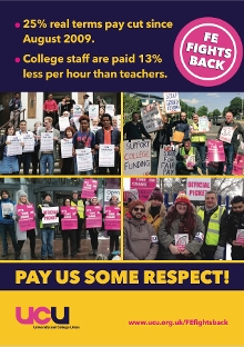 'Pay us some respect' poster thumb